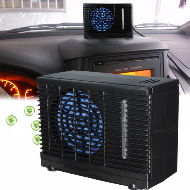 Mini Air Cooler : V portable evaporative mini air conditioner home car