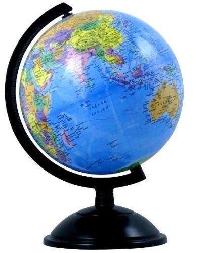 Cm Educational Toy World Globe Map On Swivel Stand Gift Kids - World globe map
