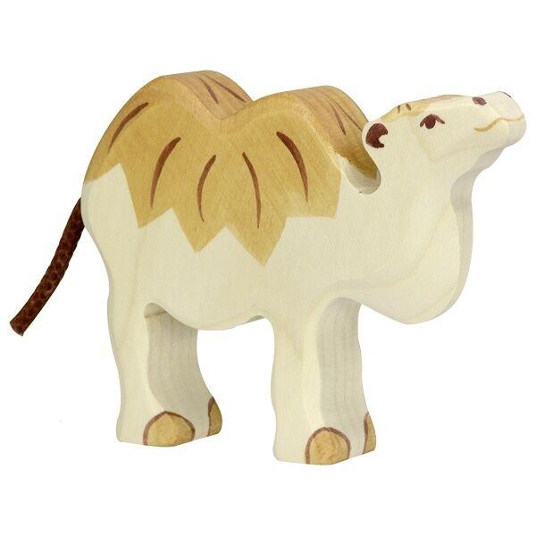 HOLZTIGER Kamel klein 80166 auch für Krippe, Krippenfigur