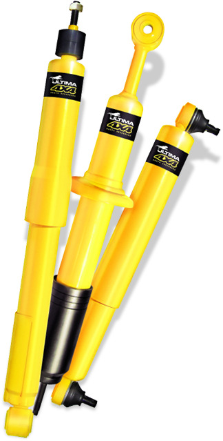 ULTIMA 36S001A PAIR Front Shock Absorbers for Ford Falcon EA EB ED EF EL Models