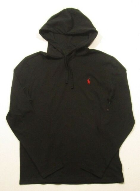 Black And Red Polo Hoodie