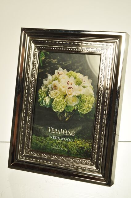 Vera Wang for Wedgwood With Love 4 X 6 Silver Plate Frame | eBay