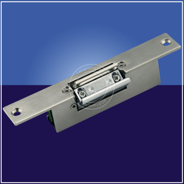 Access Control Electric Strike Lock For Glass Door Without Frame Fail Safe Nc