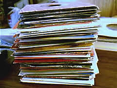 A choice of one from over 1200 singles (7 inch, 45rpm). A to M