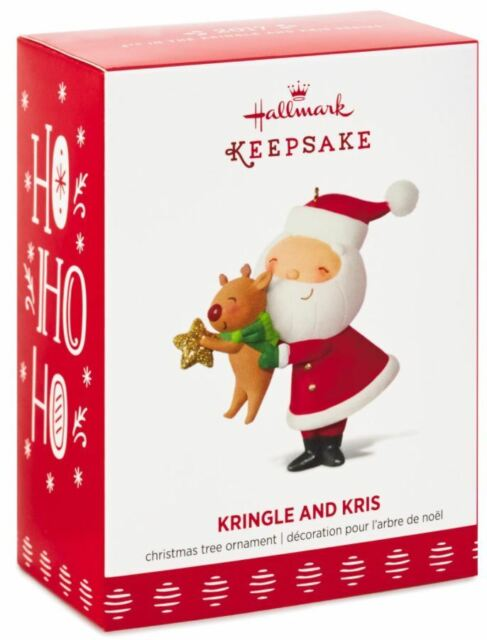 hallmark keepsake 2017 kringle and kris decorating the tree christmas ornament - Hallmark Christmas Decorations 2017