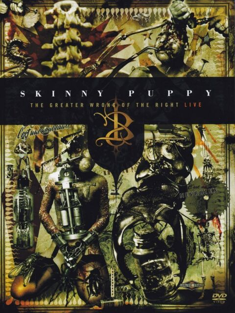 SKINNY PUPPY The Greater Wrong of the Right 2DVD 2005