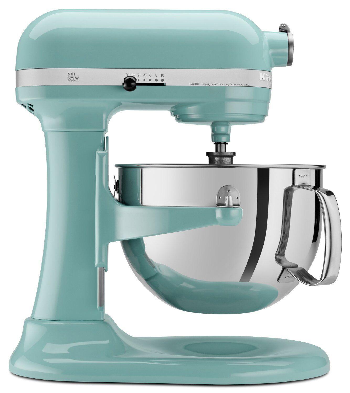 KitchenAid 600 Super Capacity 6-quart Pro Stand Mixer Kp26m1xaq Aqua ...