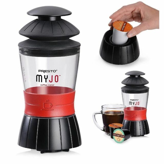 Single Serve Brewers Presto 02835 Myjo Cup Coffee Maker Ebay
