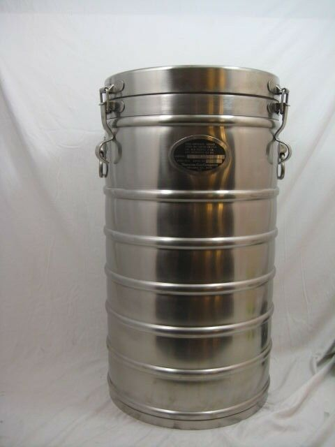 Industrial Food Container : Aervoid gallon commercial stainless steel thermal