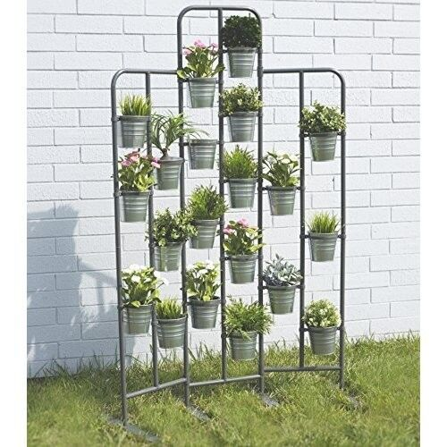 garden rack. Outdoor Plant Shelf Patio Stand Metal Planter Garden Rack Pot Holder Tiered | EBay R