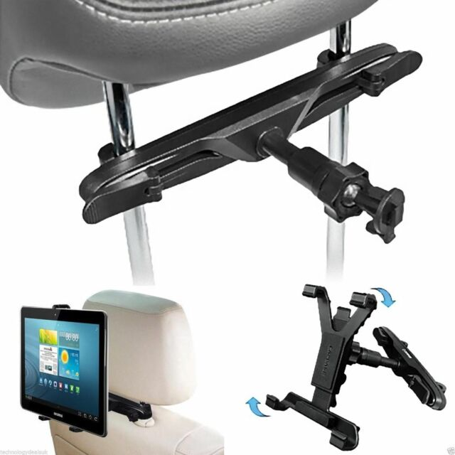 "Adjustable Car Headrest Seat Holder Mount for iPad & For All Tablets 6"" To 11"""