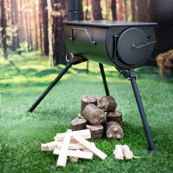 ANEVAY Frontier Stove™ SHED Kit.  Everything you need to set up in your shed!