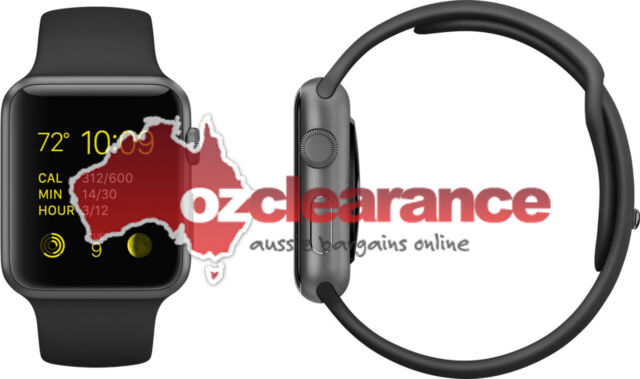 USED Apple Watch Sport Series 0 | 42mm Black | Charge Fault | Clearance