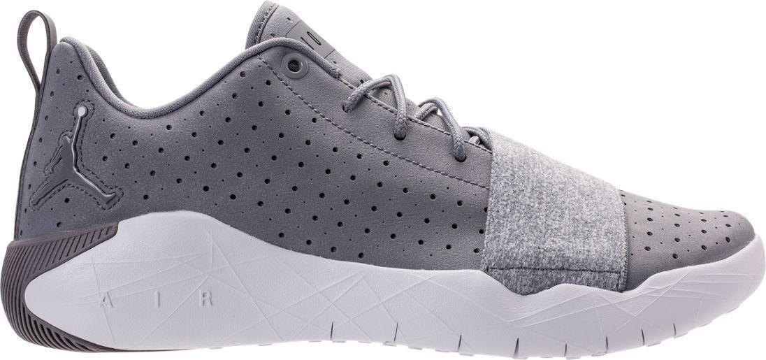 New Air Jordan 23 Breakout Mens Gray/White Athletic Training Shoes Sz 10