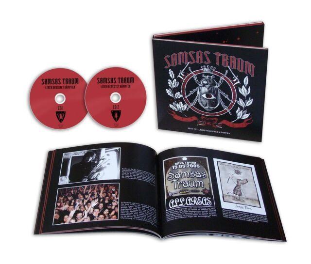 SAMSAS TRAUM Best Of – Leben Bedeutet Kämpfen 2CD 2013 LTD.3000