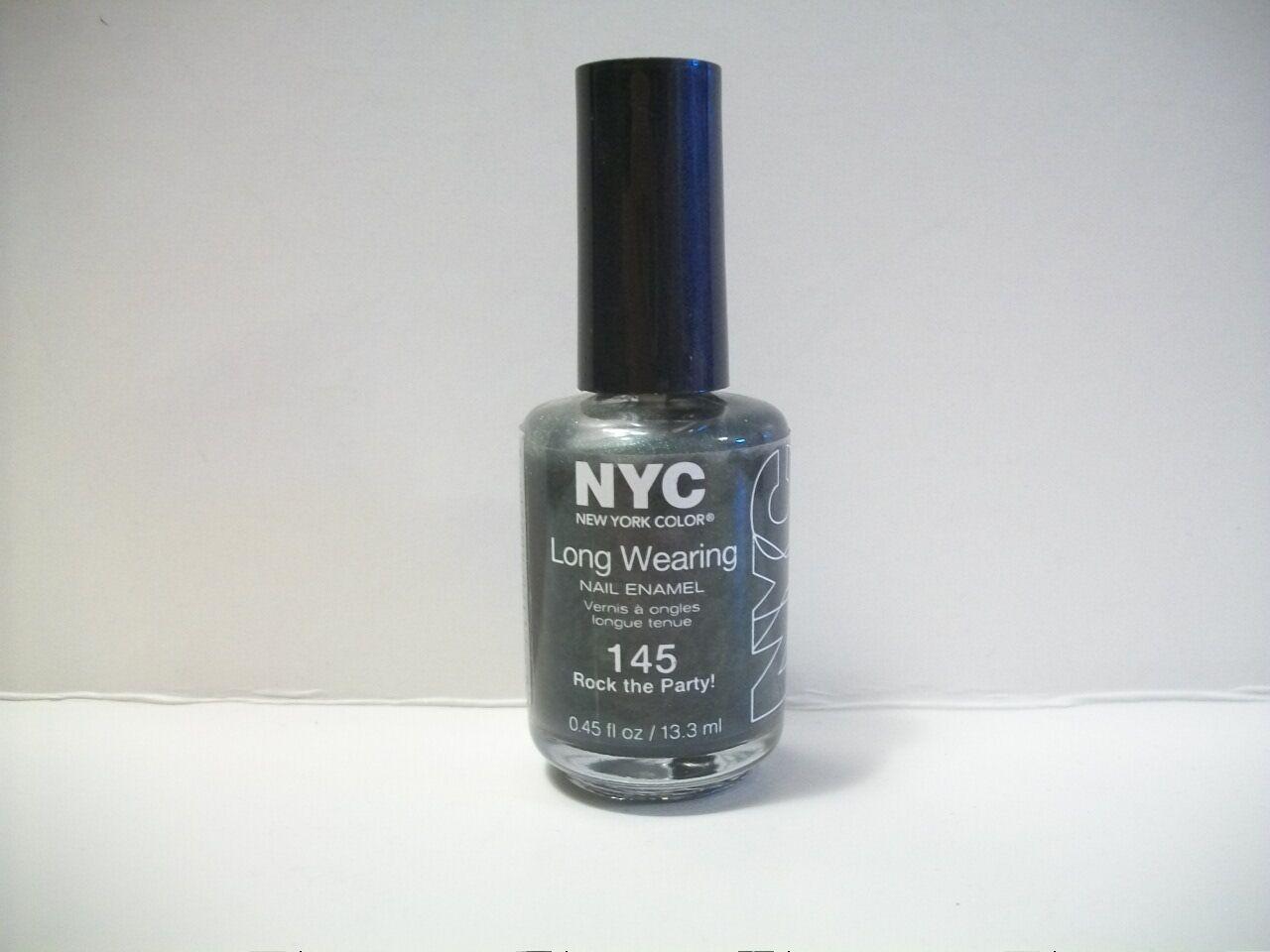 NYC Long Wearing Nail Polish #145 Rock The Party | eBay