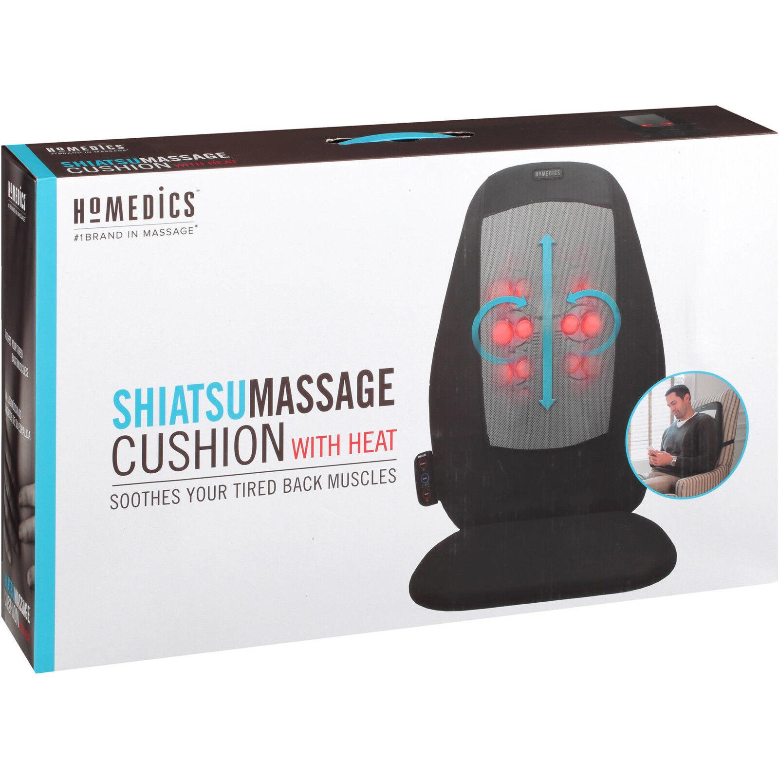 HoMedics Shiatsu Massage Cushion With Heat BRAND