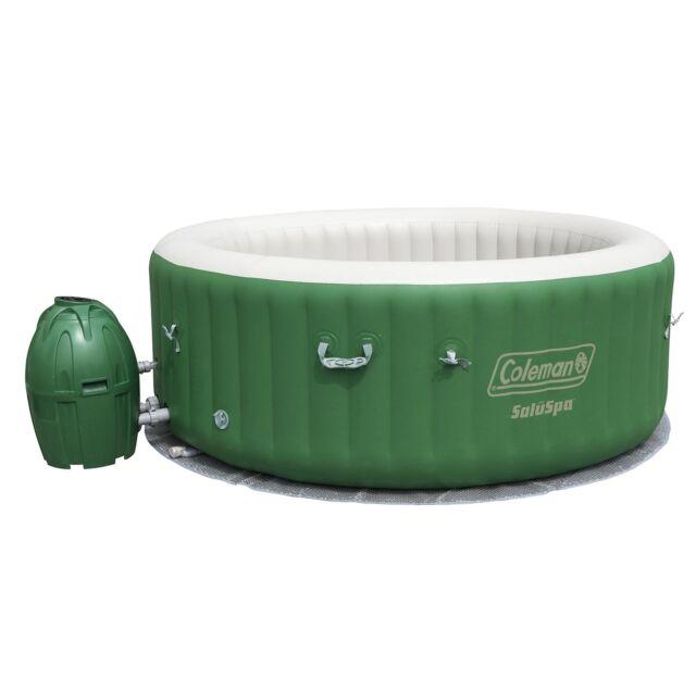 Coleman Saluspa 90363E Inflatable Outdoor Spa Jacuzzi Bubble ...