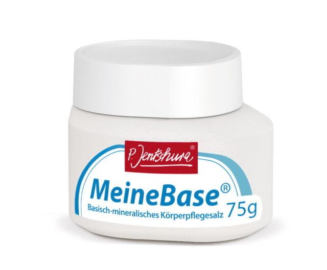 (4,67 €/100g) Probiergröße Meine Base, 75 g, basisches Badesalz, P. Jentschura
