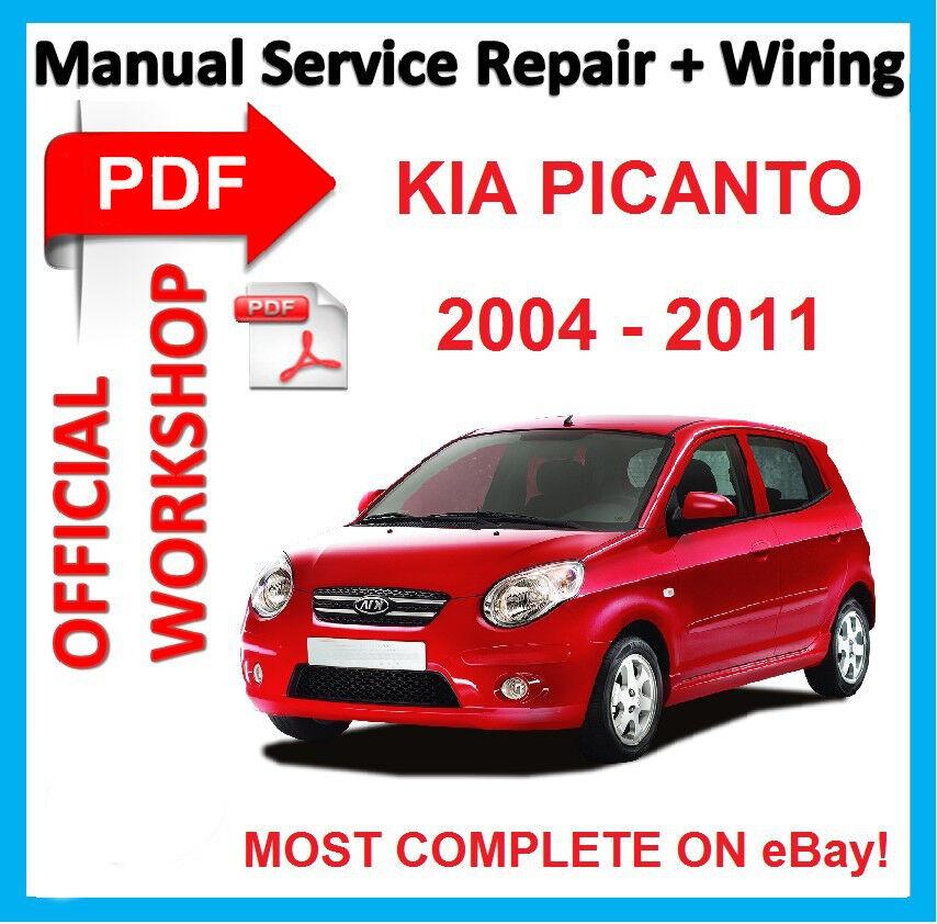 official workshop manual service repair for kia picanto sa 2004 rh ebay com 2002 Kia Picanto kia picanto 2004 workshop manual