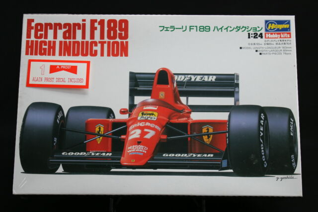 XO010 HASEGAWA 1/24 maquette voiture 23006 Ferrari F189 High Induction A Prost