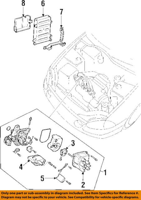92 95 honda civic dx lx d15 manual engine computer ecu 37820 p06 rh ebay com Honda Type R Engine Specs Honda F20C Engine