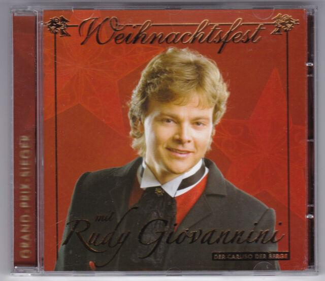 RUDY GIOVANNINI - WEIHNACHTSFEST DER CARUSO DER BERGE CD ALBUM 2006/CD NEUWERTIG