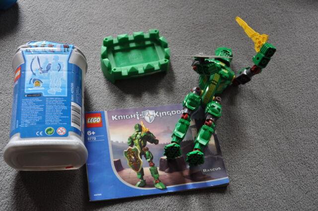 Lego 8772 Kingdom Rascus Figur Ritter Sammlung Reste Mann