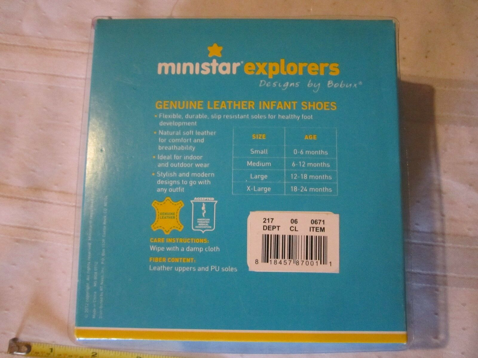 Ministar Shoes Sizing
