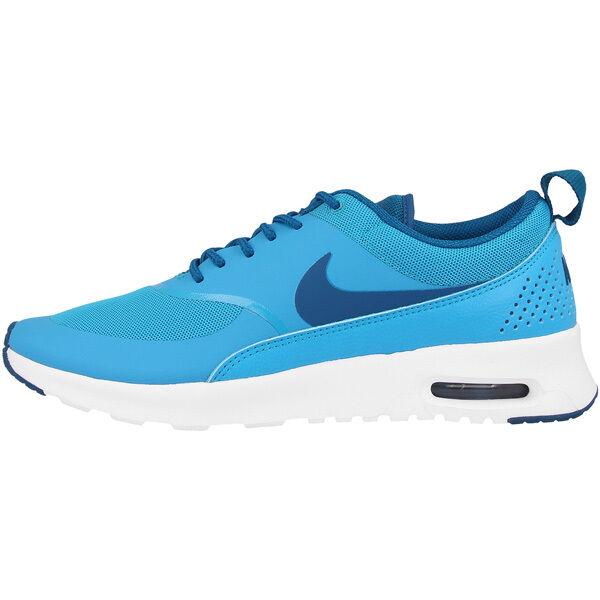 Nike Air Air Nike Max Thea Femmes Chaussures Baskets 599409 411 Bleu Lagune 381cb9
