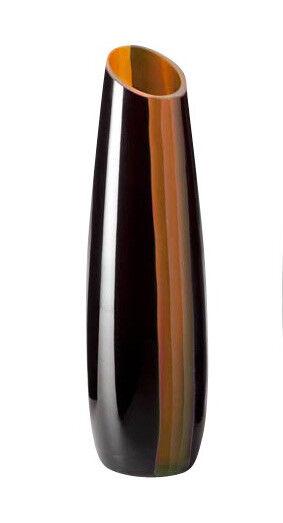 Cyan Design 04497 Ader Amber And Black Vase Small Ebay