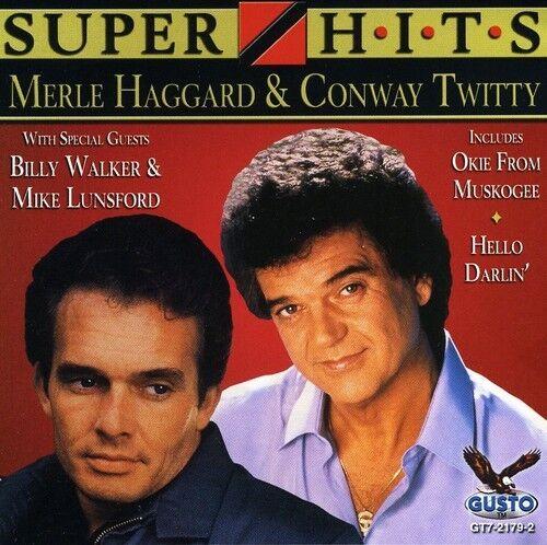 Merle Haggard, Merle Haggard & Conway Twitty - Super Hits [New CD]