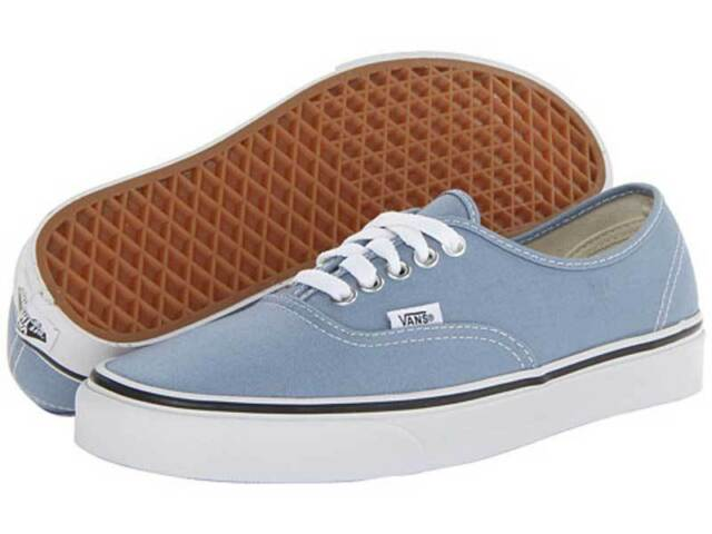 Chaussure Basse VANS Authentic Faded Denim True White Homme Pointure 42 cEfZd62