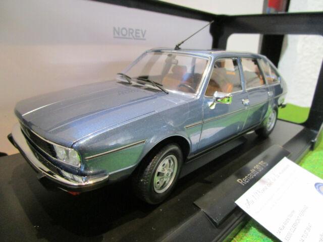 RENAULT  30 TS de 1978 bleu au 1/18 NOREV 185270 voiture miniature de collection