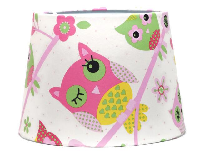 Owl lampshade or ceiling light shade girls bedroom pink woodland owl lampshade or ceiling light shade girls bedroom pink woodland nursery gifts aloadofball Choice Image