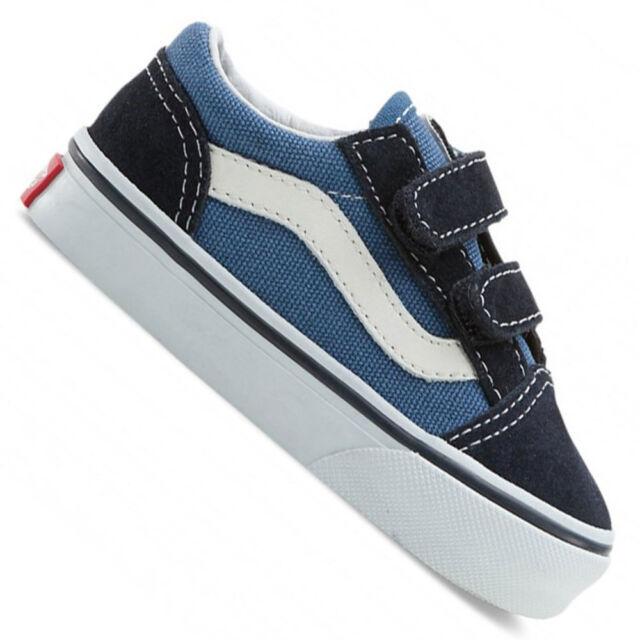 vans old skool blu navy bambini