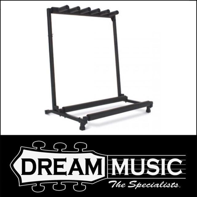 Xtreme Guitar Rack Multi Stand GS805 Black 5 Five Gtr Stand $59