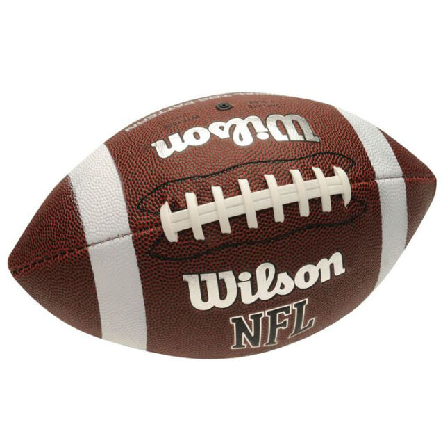 Wilson NFL TDS Pattern Soft Grip American Football Official AFVD Super Bowl neu