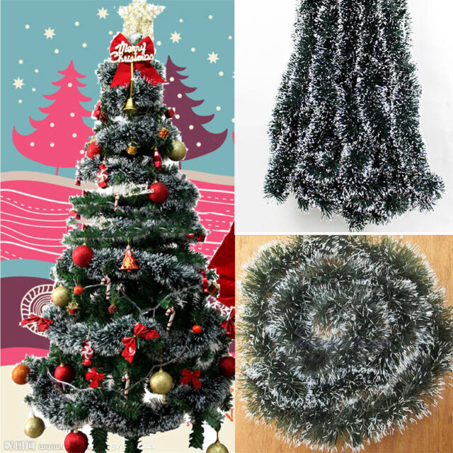 xmas tree hanging ornament decoration garland ribbon string for christmas party - Garland For Christmas Tree