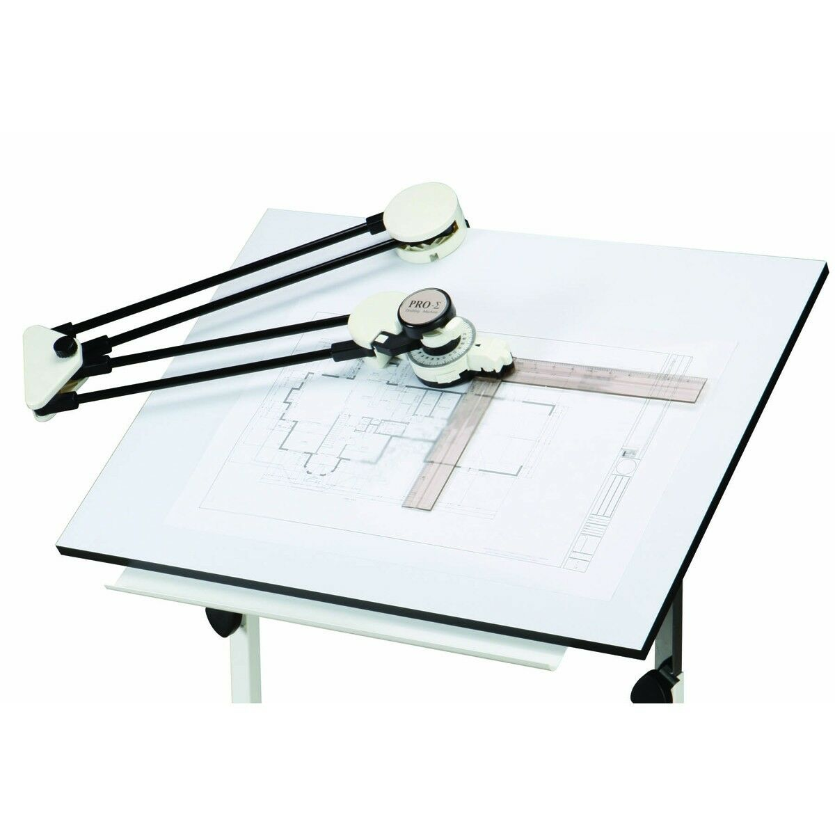100 Small Drafting Table With Parallel Used