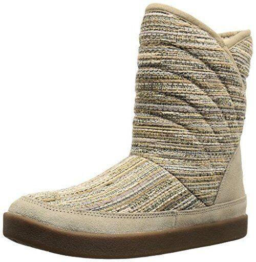 Sanuk Women's Big Bootah Winter Boot,Natural Boho,6 M US