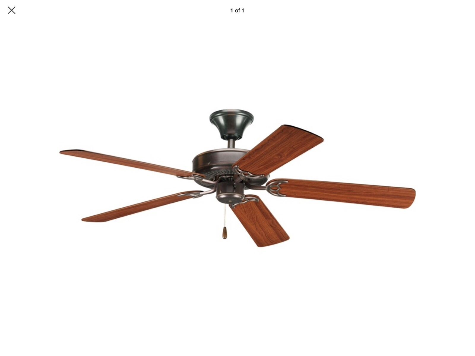 Progress Lighting AirPro Ceiling Fan in Antique Bronze P2501 20