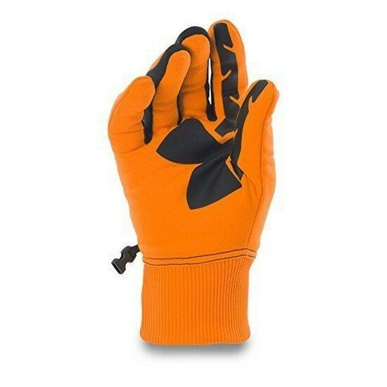 under armour gloves orange