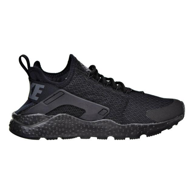 Nike Air Huarache Run Ultra Womens 819151-011 Black Grey Running Shoes Size 6