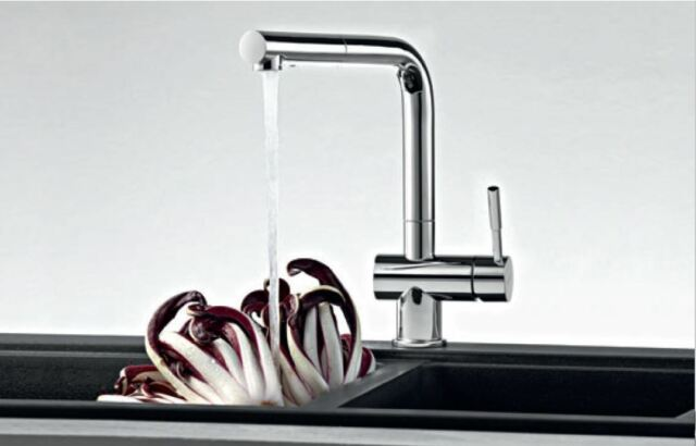 chrome alternate side kitchen spray view alt with faucet henton hand