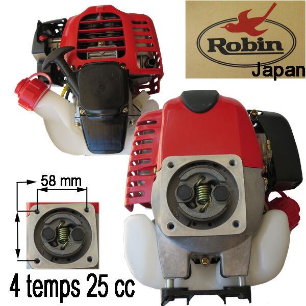 moteur robin 4 temps 25 cc s adapte mitsubishi debroussailleuse stihl kawasaki ebay. Black Bedroom Furniture Sets. Home Design Ideas