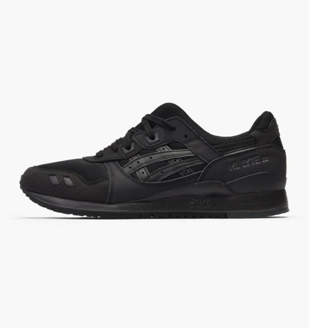 Asics Gel Lyte III H7N3N 9090 Baskets Mixte Adulte Noir