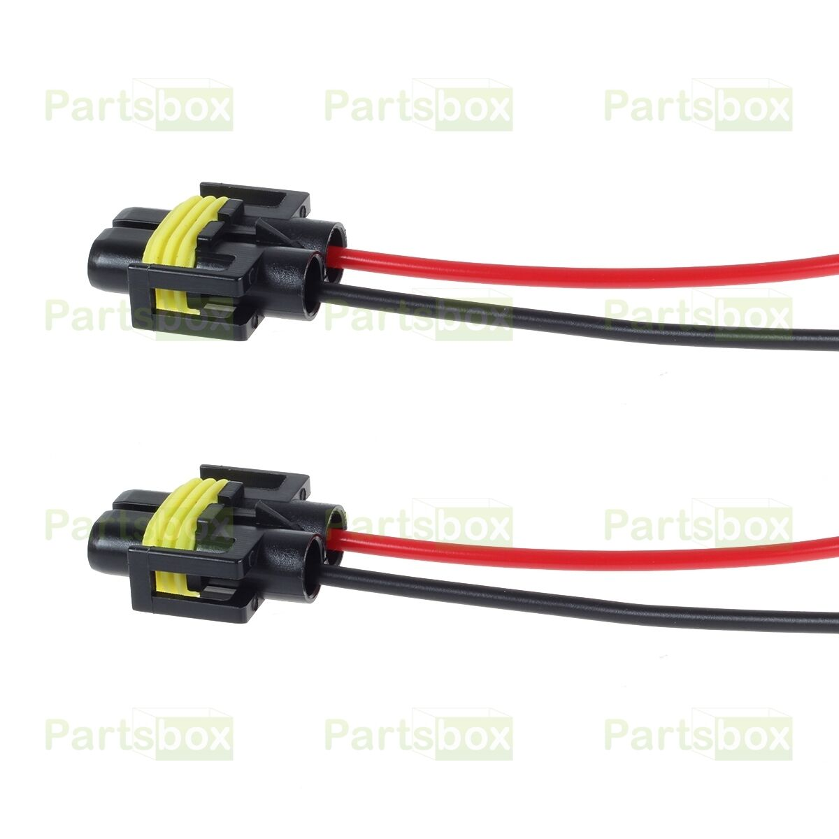 s l1600 2x h8 h11 female wire harness pigtail socket for car headlight fog  at reclaimingppi.co