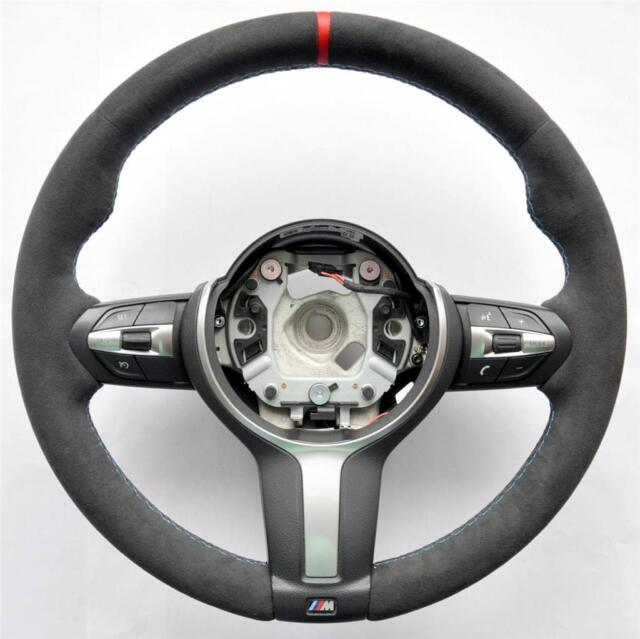 BMW M Performance Steering Wheel Alcantara Carbon Cover