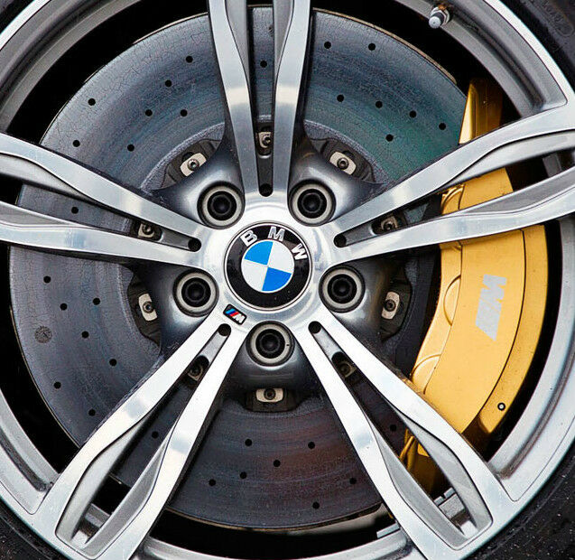 BMW OEM F10 M5 F12 F13 M6 Gold Brembo Carbon Ceramic